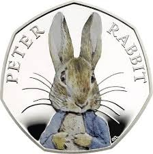How much is the Peter Rabbit 50p worth? - All About Coins
