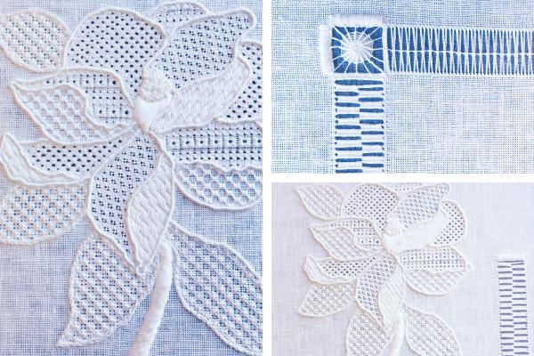 Whitework Elegance Pattern