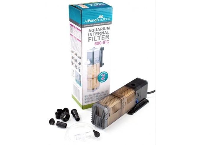 Review All Pond Solutions Aquarium Internal Filter 600