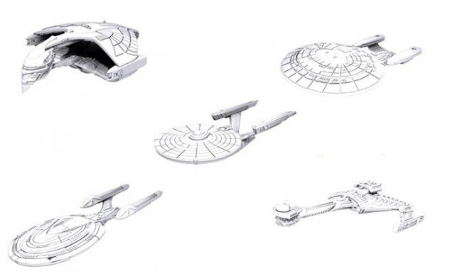 Star Trek PRESALE board game wizkids New Galactic Enterprises
