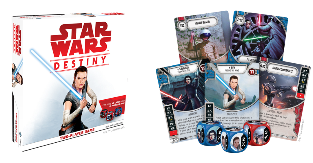 Force Friday Star Wars Destiny Two-Player Starter Game ENGLISCH