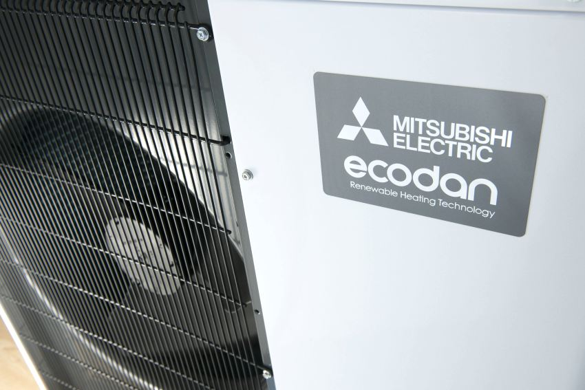 mitsubishi ecodan quiet air source heat pump