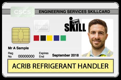 air conditioning refrigeration refrigerant  engineer skills qualification