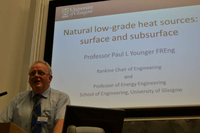 Prof Younger - Harnessing Heat from Rivers Conference - heat pumps today