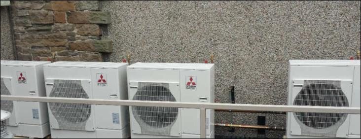 Mitsubishi Electric Ecodan Heat Pumps at Edinburgh Zoo - heat pumps today