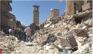Amatrice, Italy - earthquake
