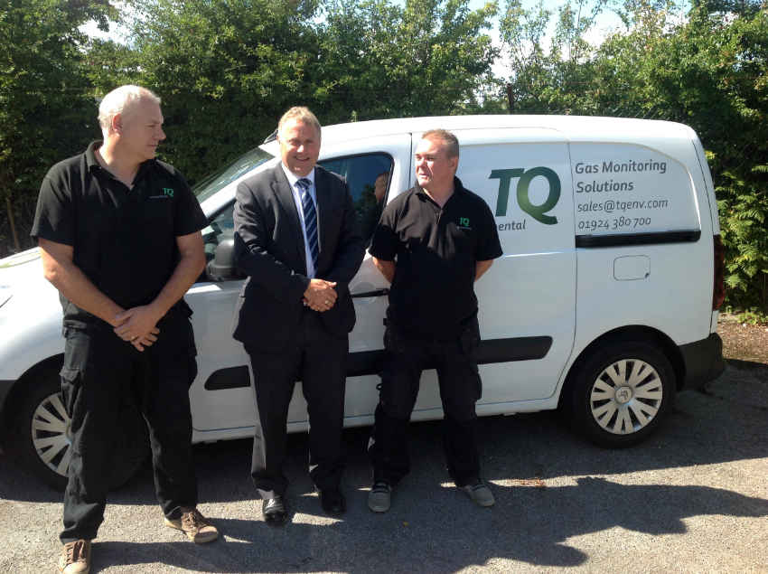 Gary Hall and the service team at TQ Environmental - ACR Journal