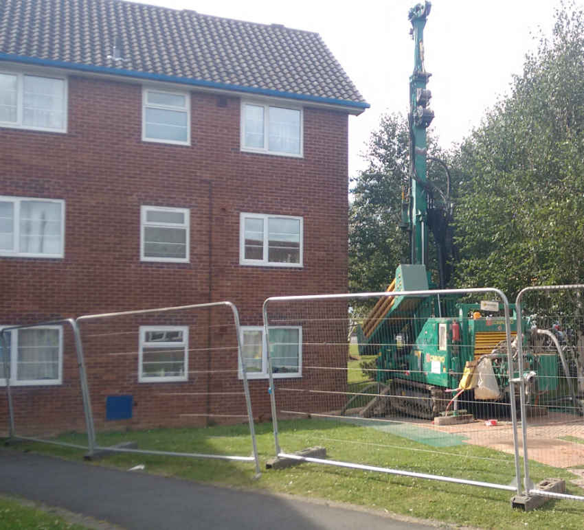 Drilling rig compound - Heat Pumps Today