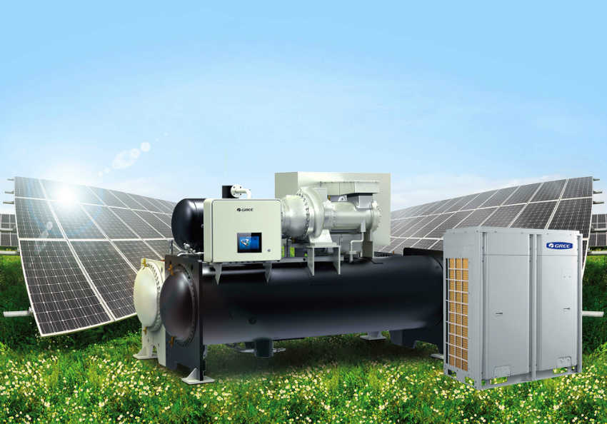 Gree PV offering - chillers and VRF