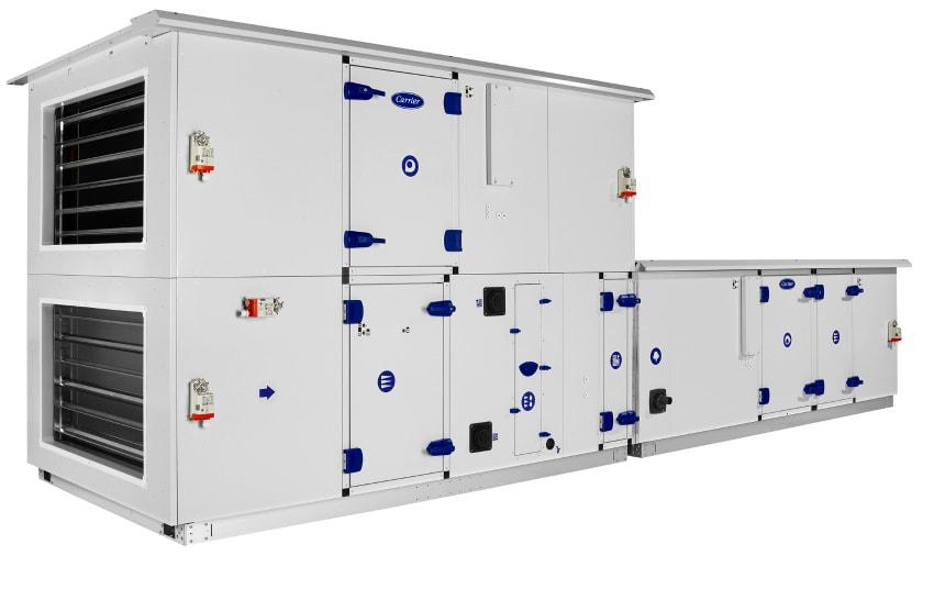 ahu air handling unit air conditioning carrier modular
