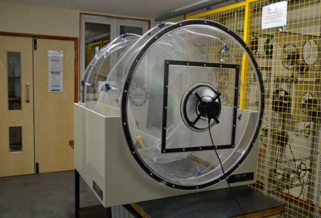 EC Fans wind tunnel