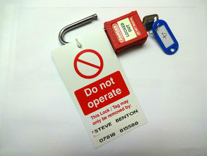 Danger Sign - Electrics