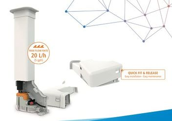 air conditioning ancillary product condensate pump trunking