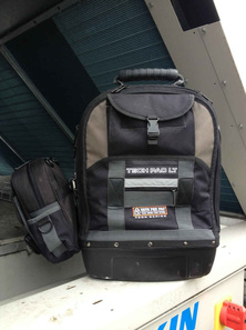 Tech Pac LT with additional MB Meter Bag