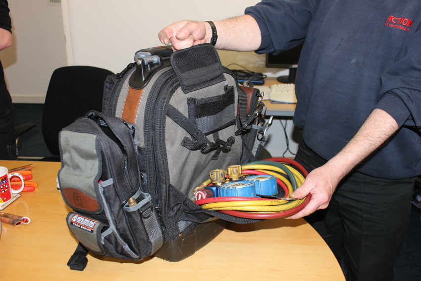 Tech Pac with MB2 & TP4 Attached