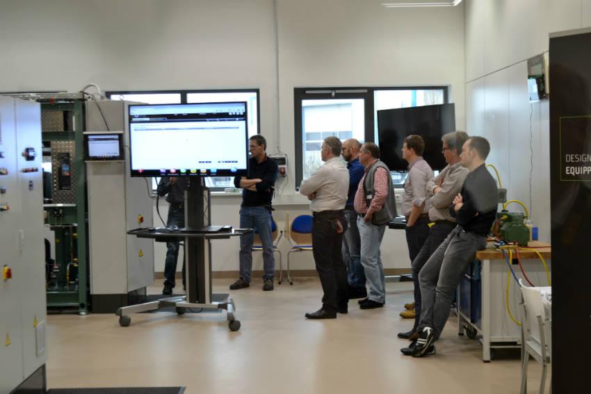 Delegates at the Schaufler Training Academy