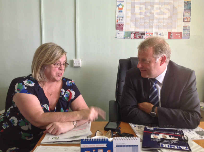Jenny Boucher and Gary Hall from TQ Environmental - ACR Journal