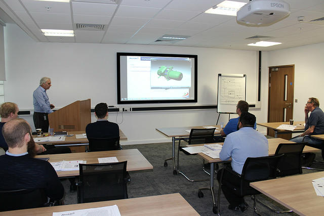 Airedale training centre - classroom
