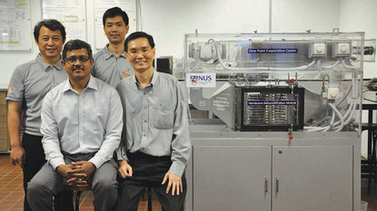 air conditioning singapore university water-cooled energy efficiency