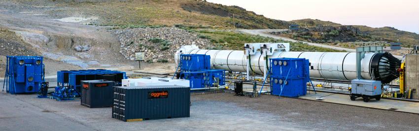 NASA Aggreko Utah Bukoski rocket