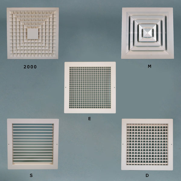 indoor air quality grille diffuser