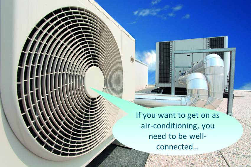 air conditioning smart connected controls