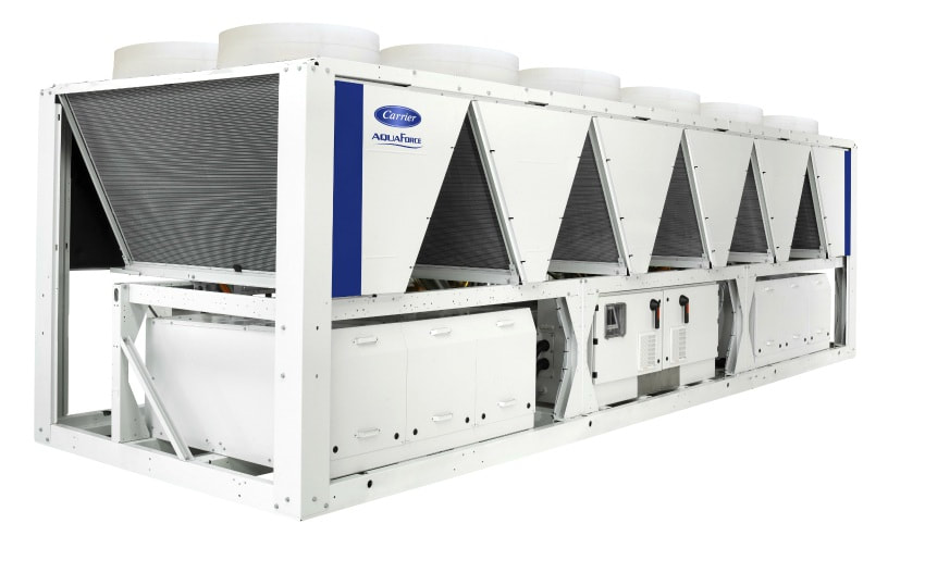 screw chiller carrier aquaforce