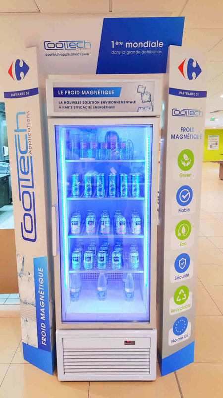 Cooltech-magnetic-refrigeration-carrefour