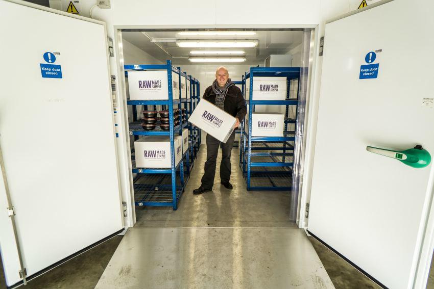 refrigeration freezer raw food