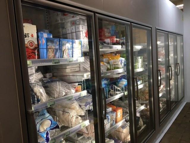 portable freezer cold store rental