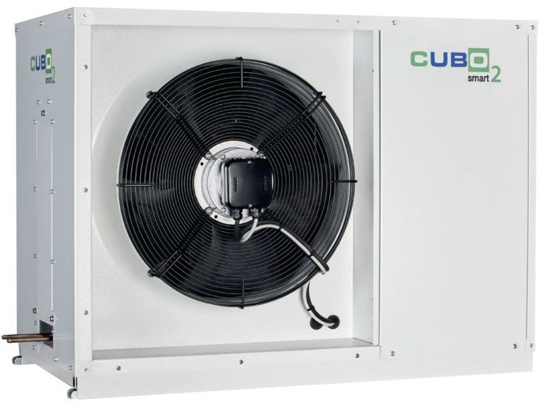 SCM Frigo packaged condensing unit CO2 Cubo2 Smart inverter air conditioning