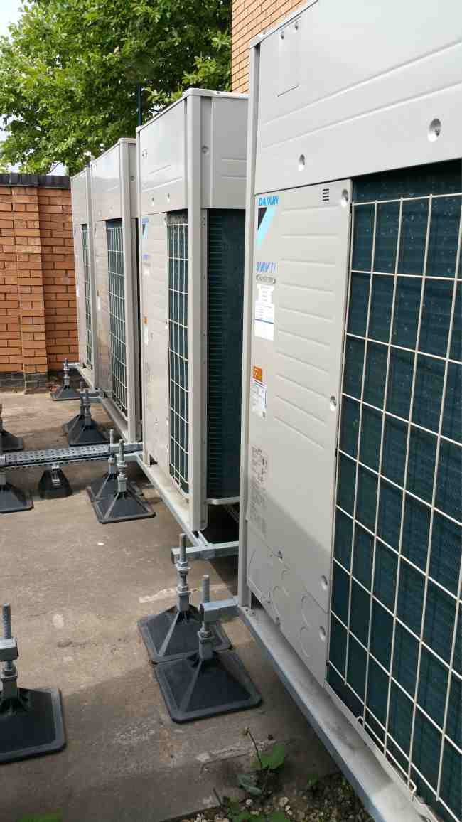 daikin air conditioning vrv installation coventry technology park