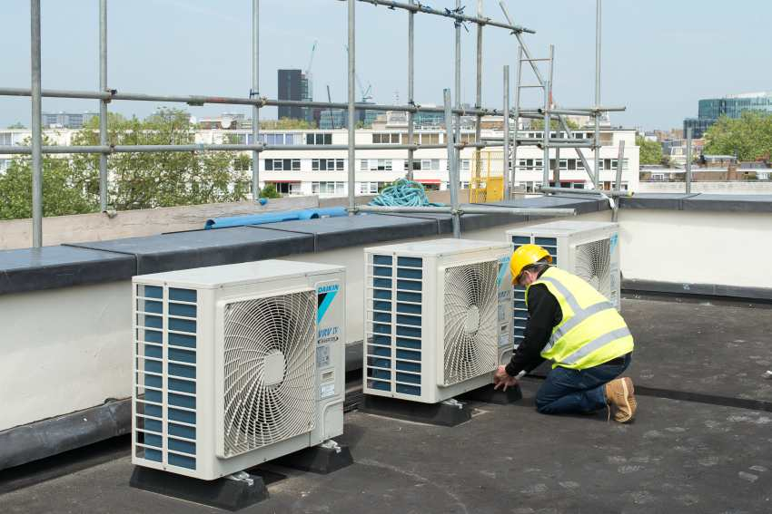 vrv heat pump air conditioning