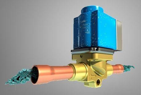 solenoid valve danfoss hvac refrigerant
