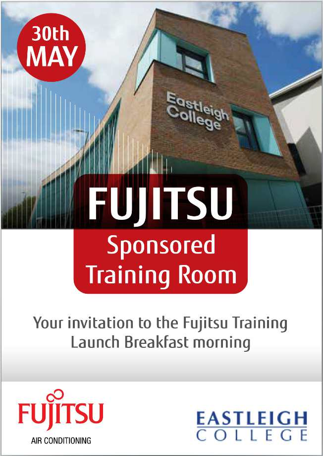 fujitsu college training donation air conditioning