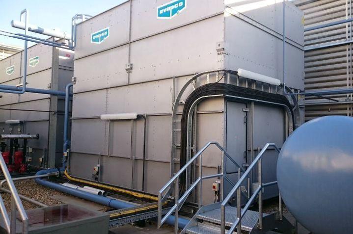 refrigeration evaporative condenser