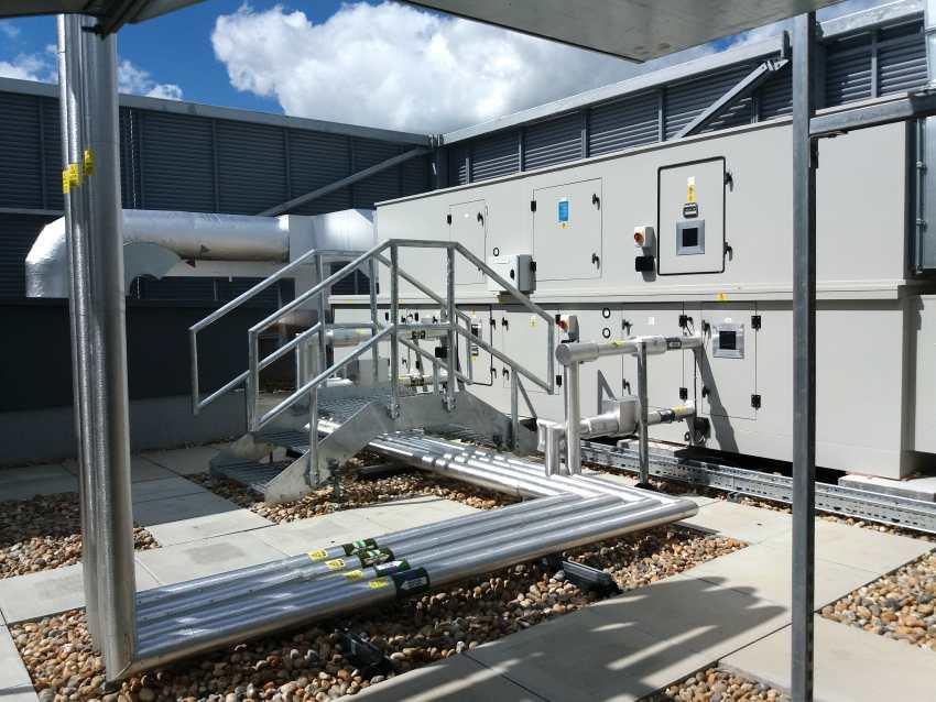 ahu fenwick air handling retail store bracknell cooling refrigeration