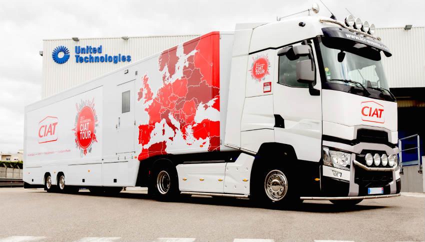 ciat ozonair roadshow truck dates