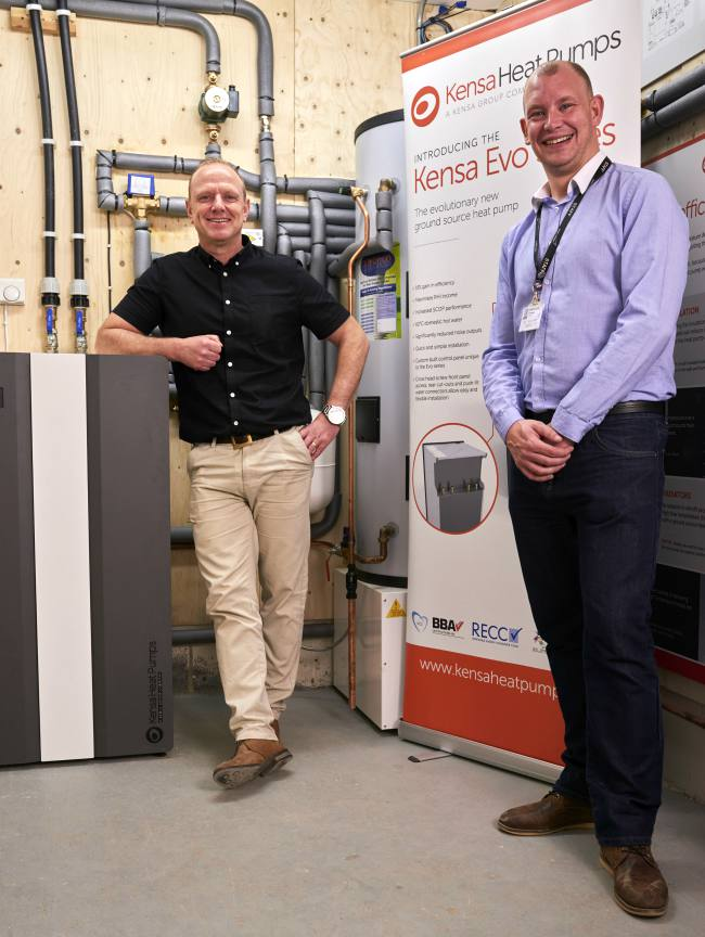 kensa ground source heat pump training exeter college