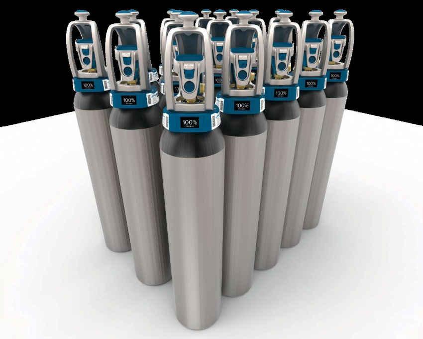 Linde Gases EVOS valves