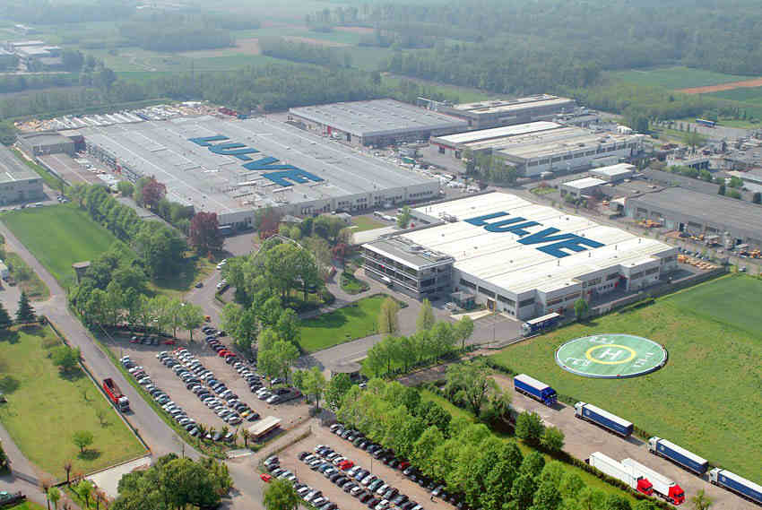 luve factory from the air