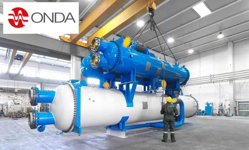 Onda Titan Engineering condensers evaporators industrial