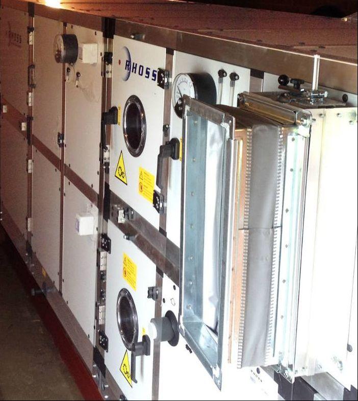 AHU air handling unit Rhoss compact Klima-Therm