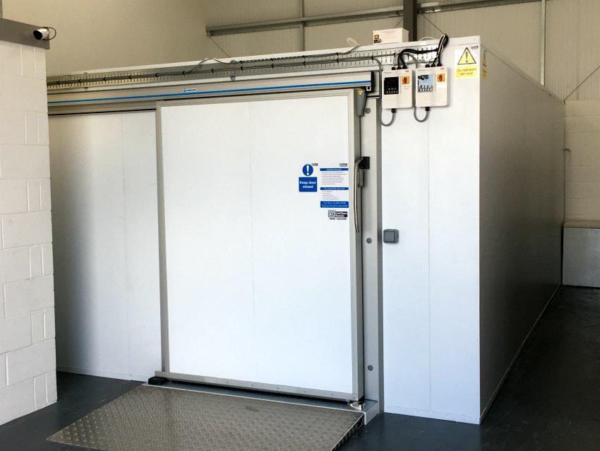 cold storage freezer rental pet food supply