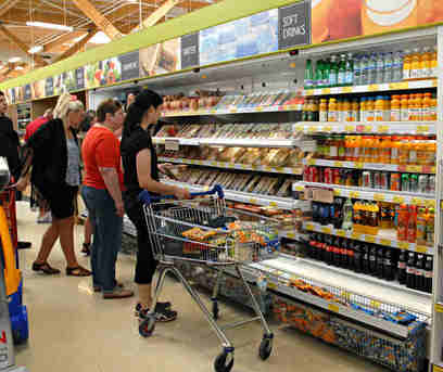 Shoppers-in-Supermarket