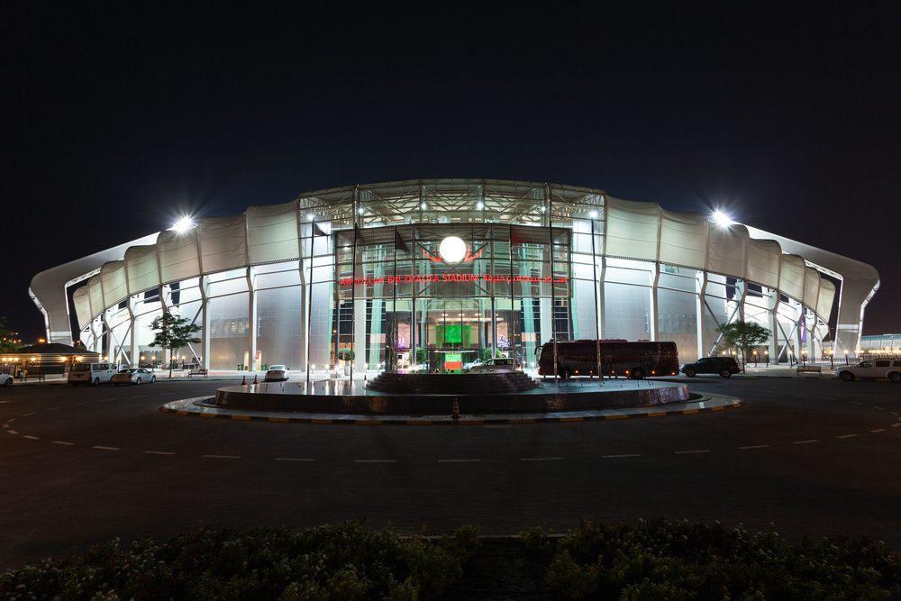 Khalifa stadium Qatar cooling