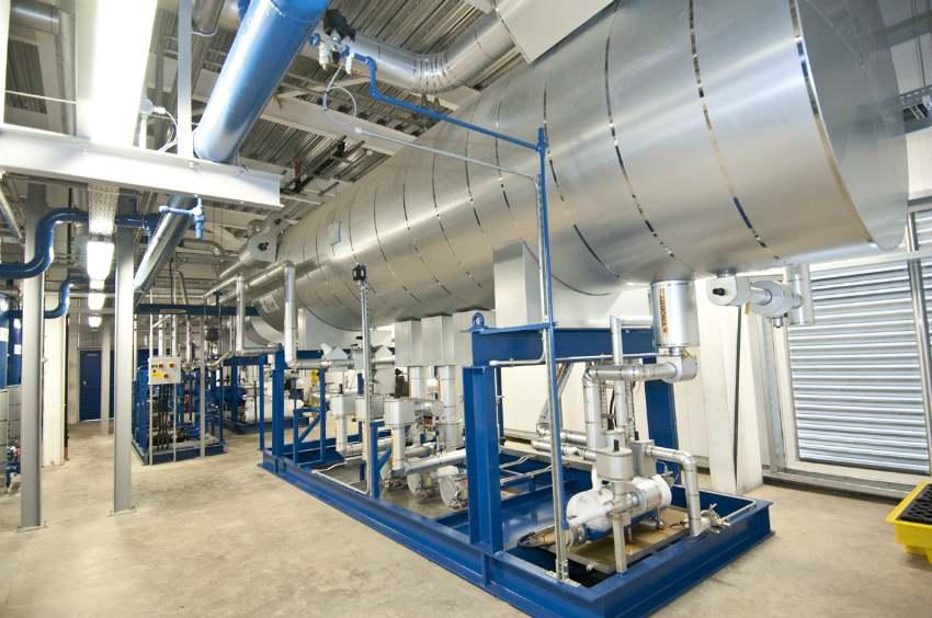 refrigeration ammonia leak supermarket distribution centre