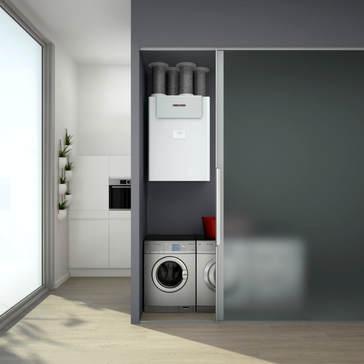 ventilation heat exchanger heating