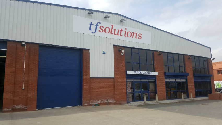 wholesale leeds TF Solutions trade counter