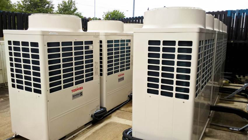 toshiba vrf condensing units peterborough